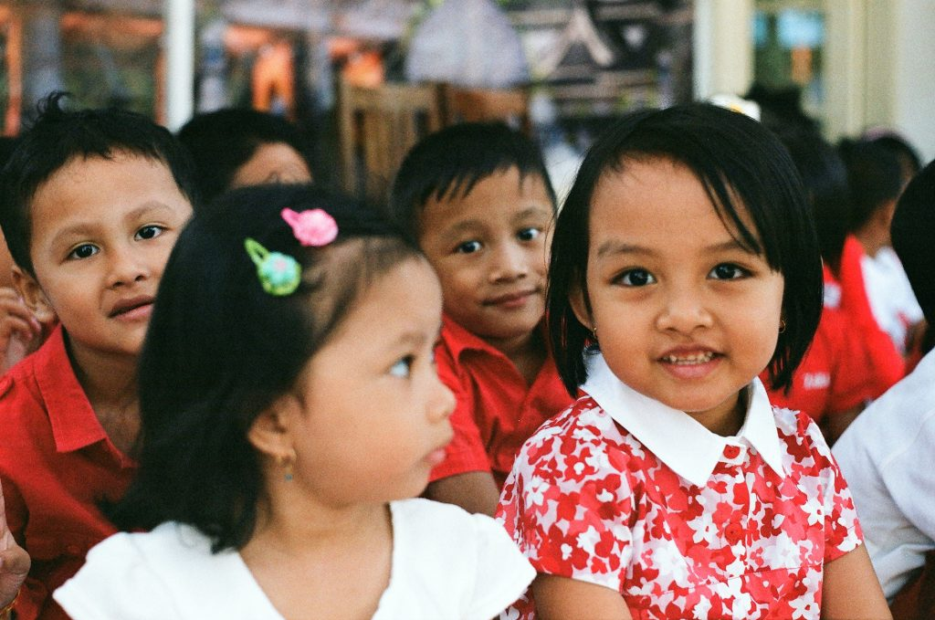 Wolontariat w Indonezji w przedszkolu