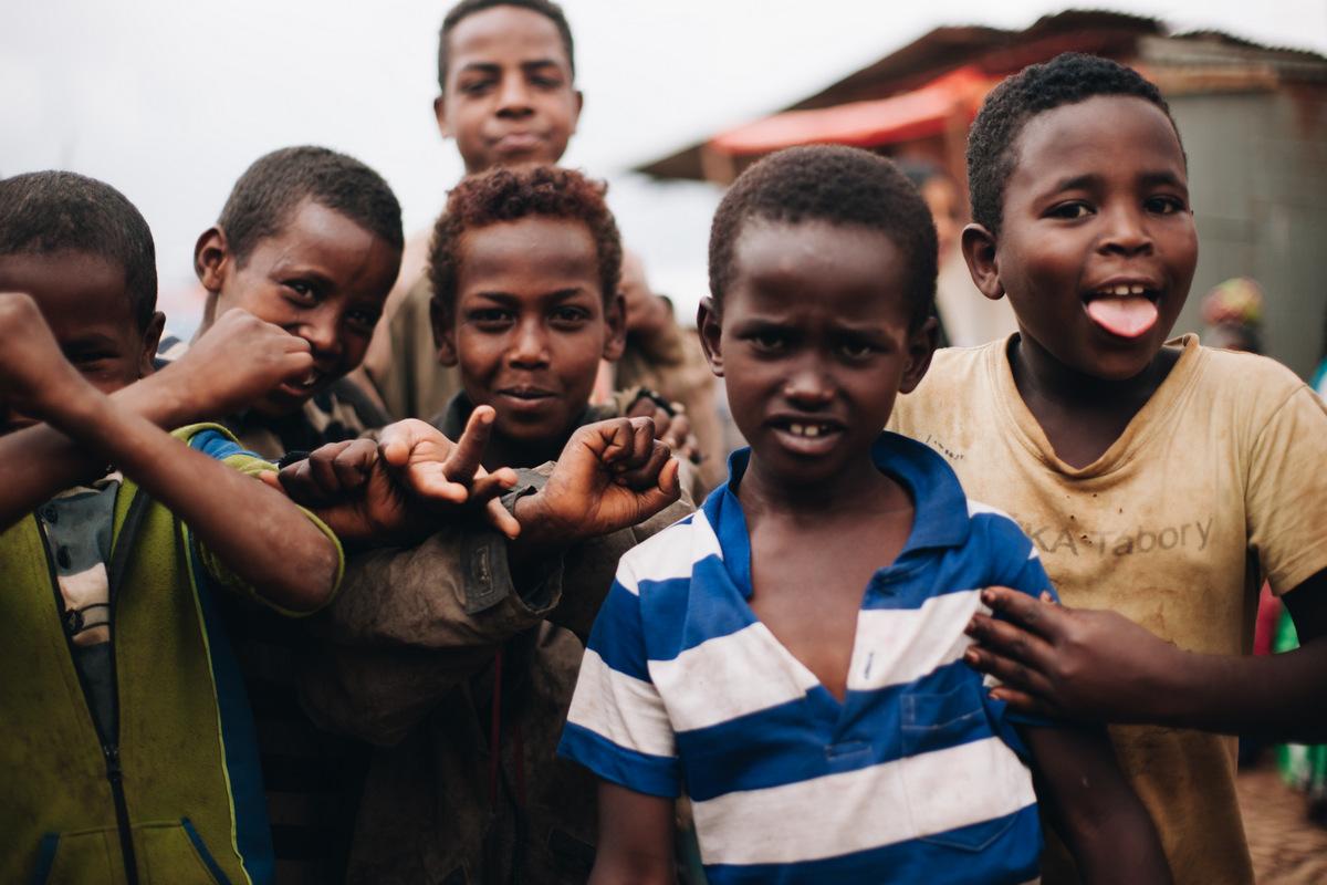 etiopskie dzieci