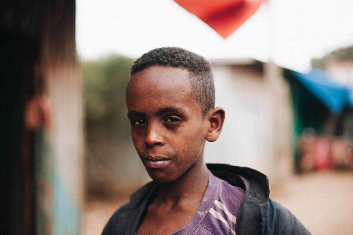 etiopia dzieci