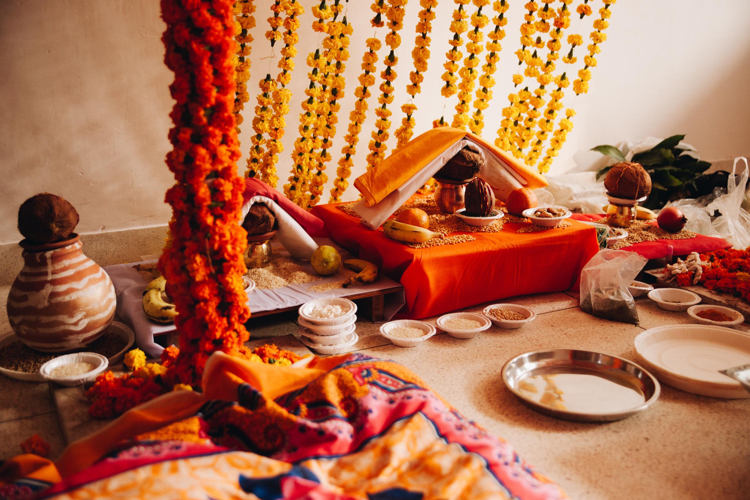 hinduski slub ceremonia