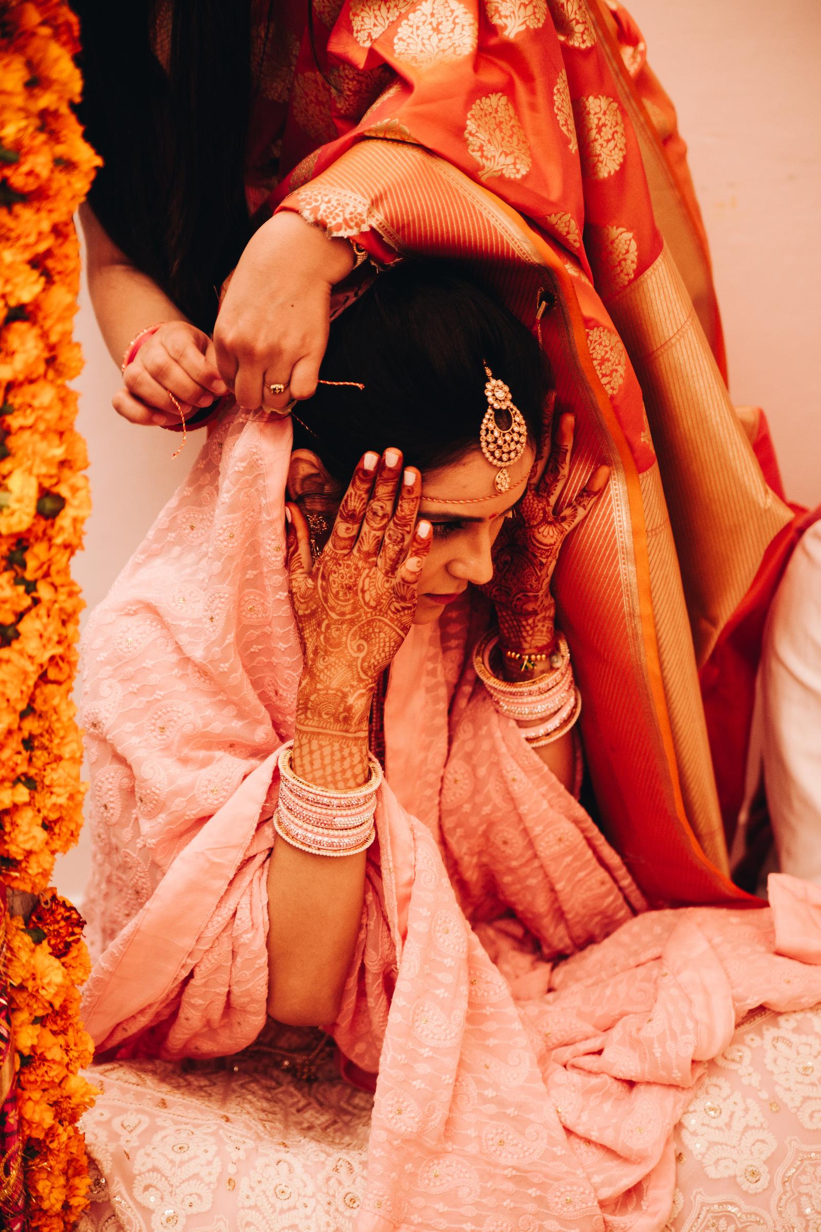 hinduski ślub panna młoda