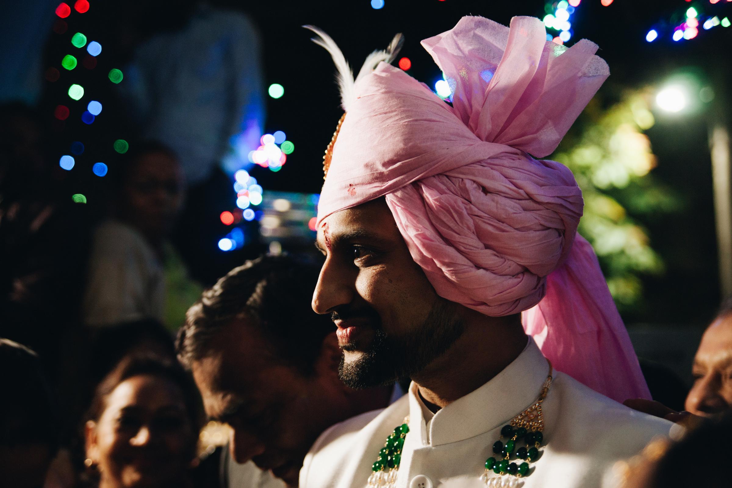wesele w indiach pan młody