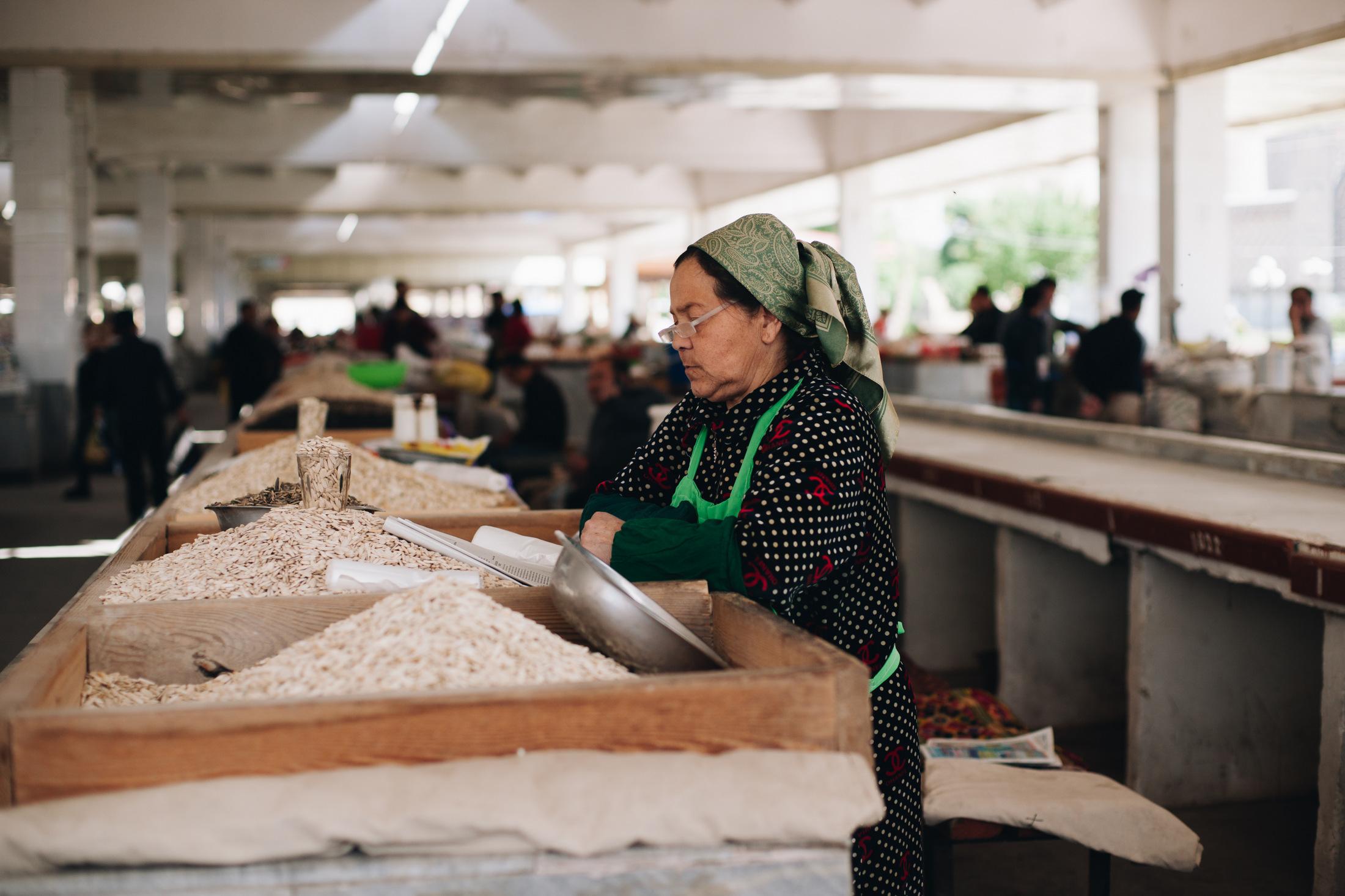 bazary jedwabnego szlaku uzbekistan