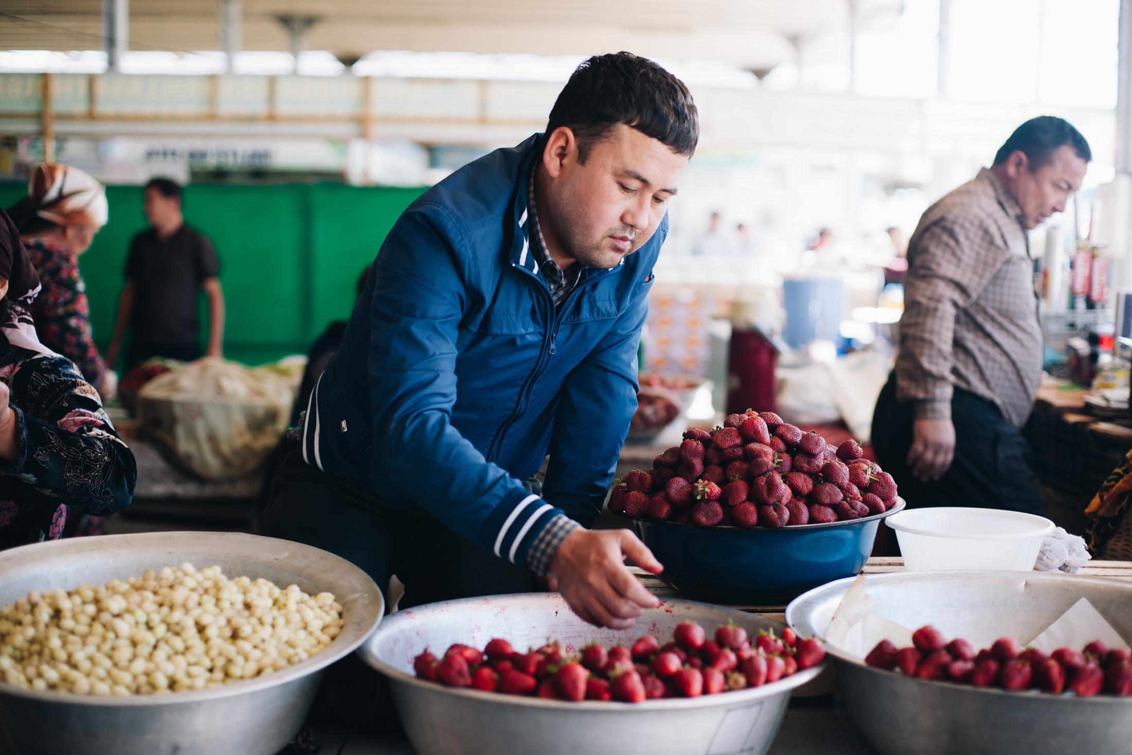 bazary w uzbekistanie