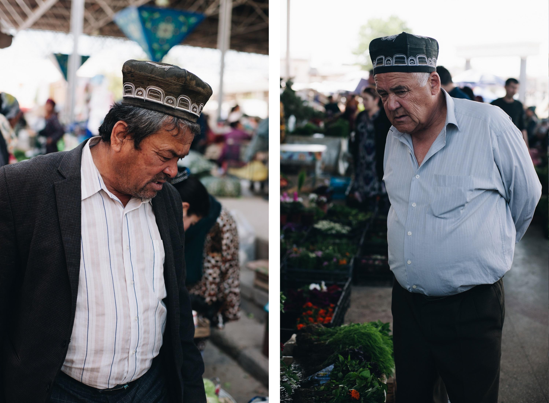 uzbek tradycyjna czapka uzbekistan