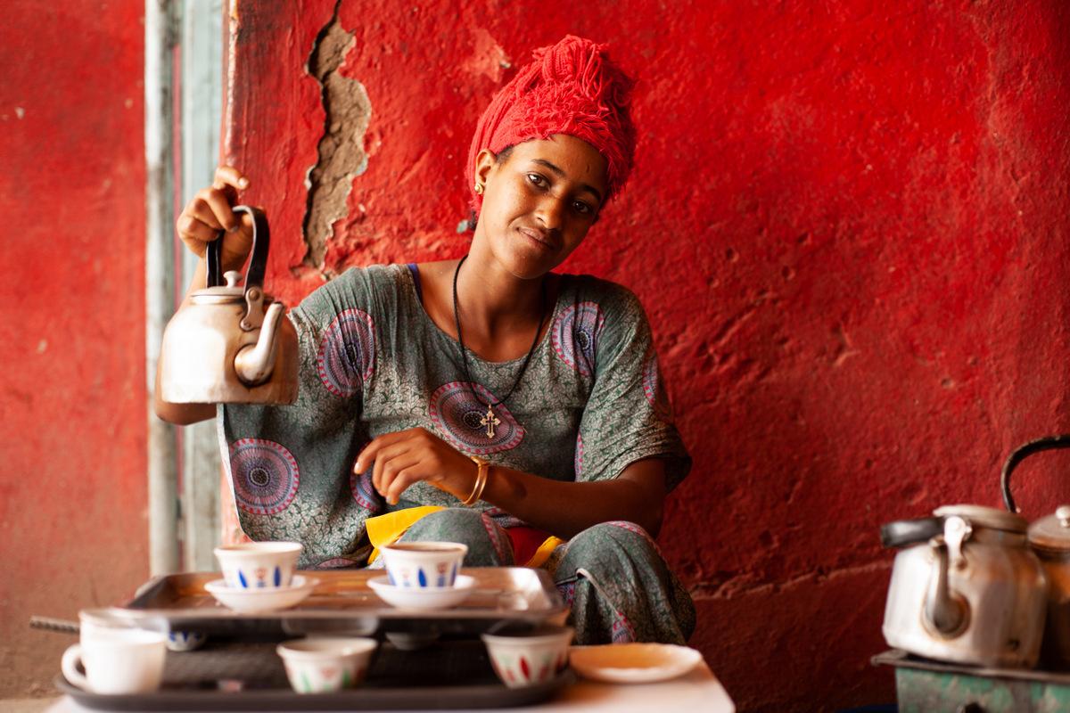 ceremonia kawy etiopia
