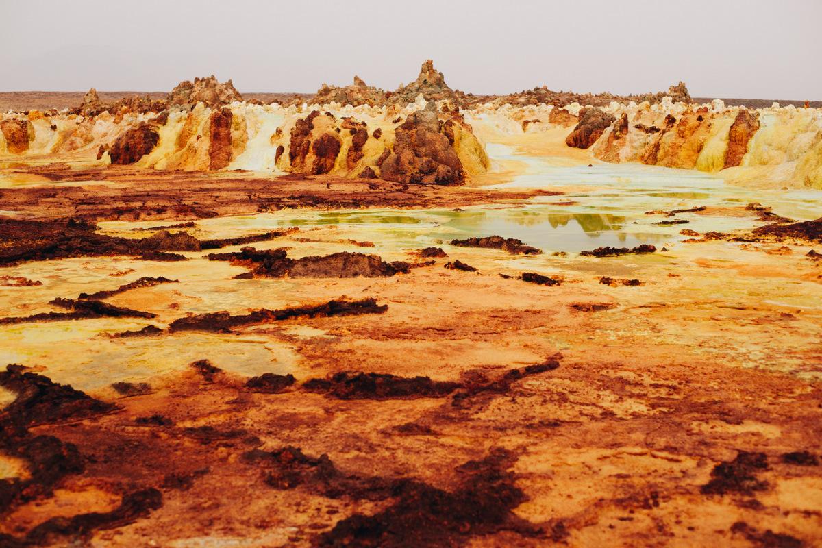 dallol wulkan etiopia