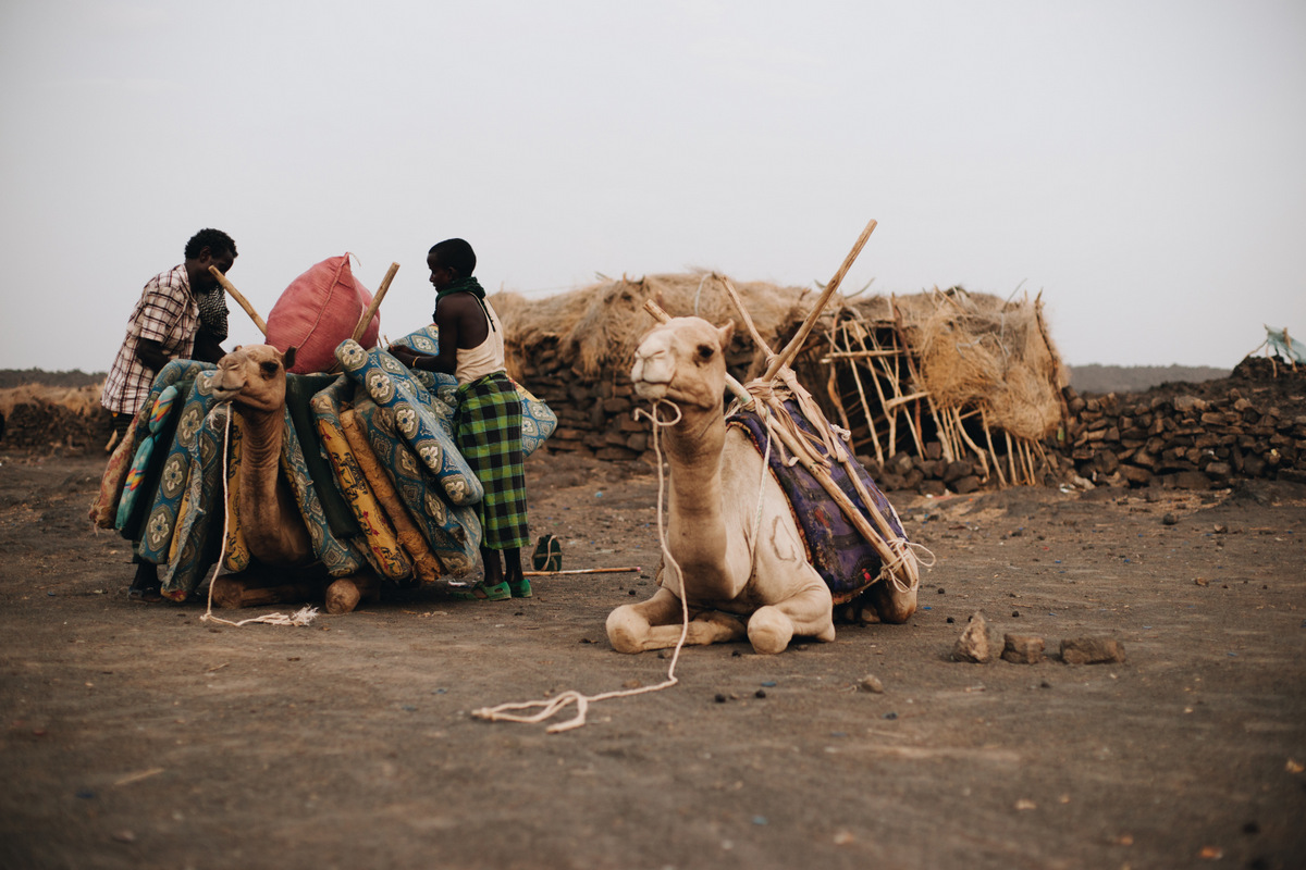 afarowie etiopia