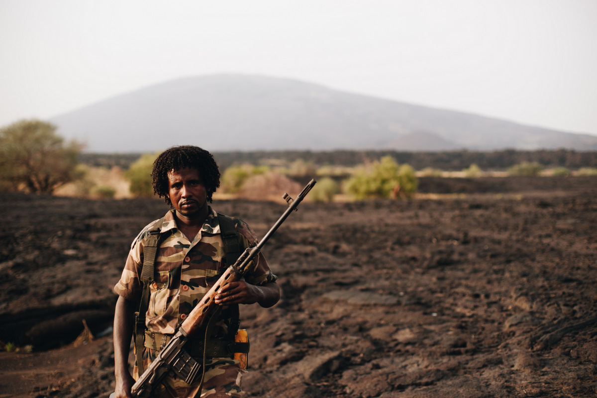 Elta Are wulkan etiopia