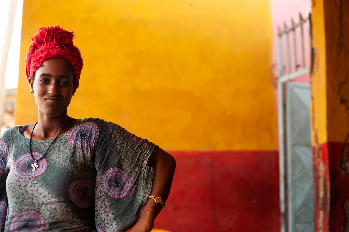 etiopska dziewczyna