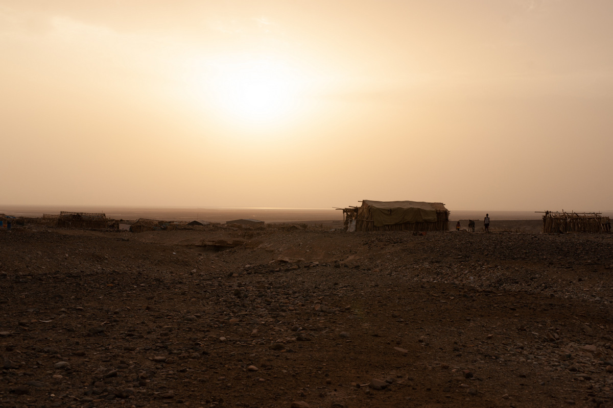 Pustynia Danakilska Etiopia