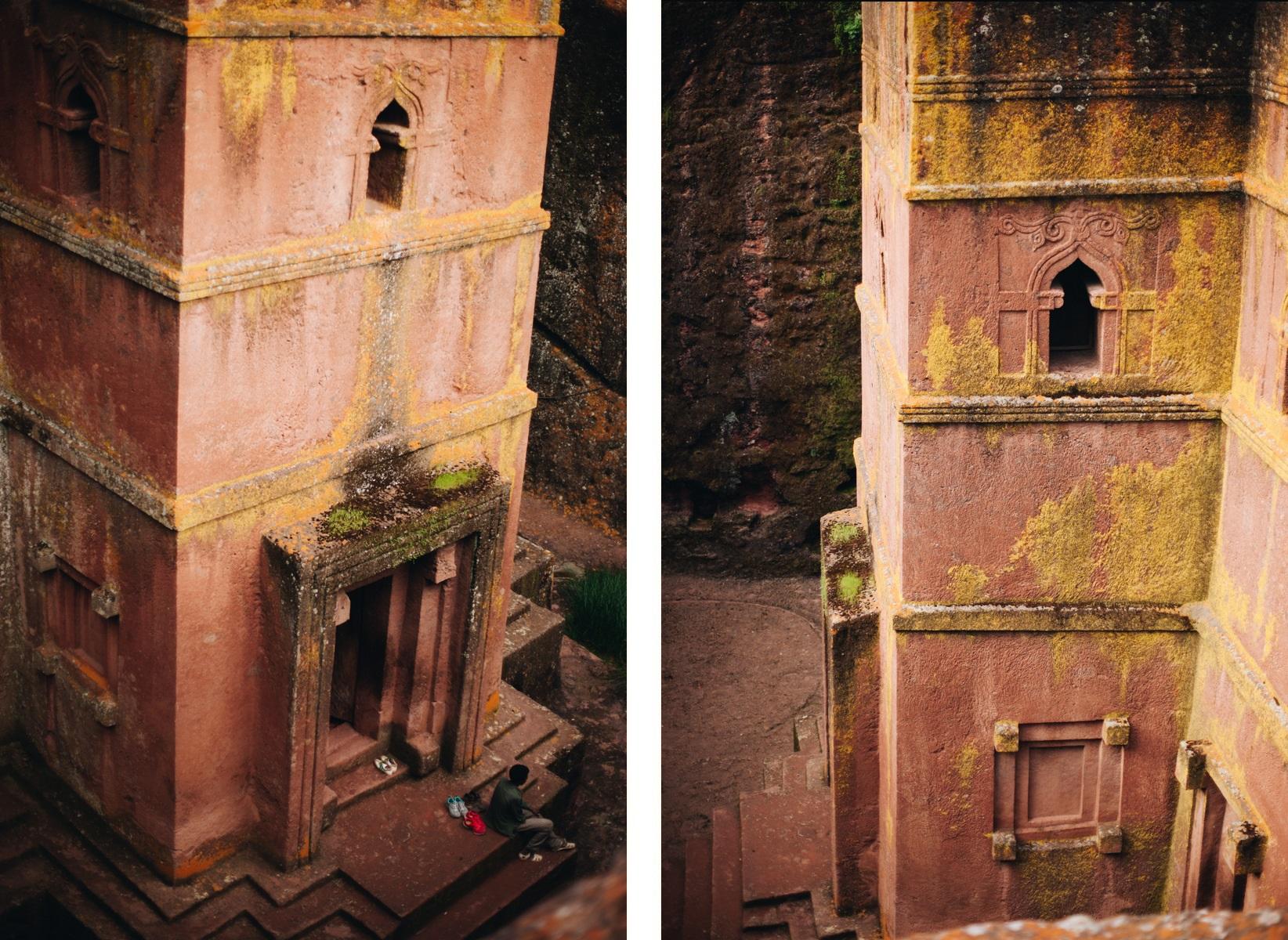 kościół św. Jerzego w Lalibeli