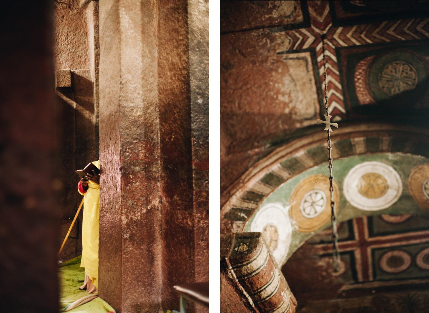 kościoły skalne w Lalibeli