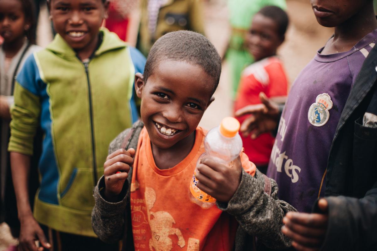 dzieci z etiopii