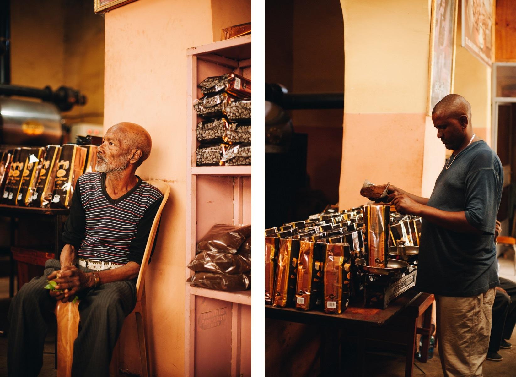 Harer Etiopia fabryka kawy