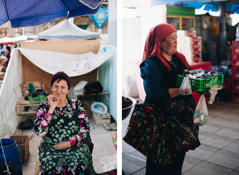 uzbekistan bazary samarkanda