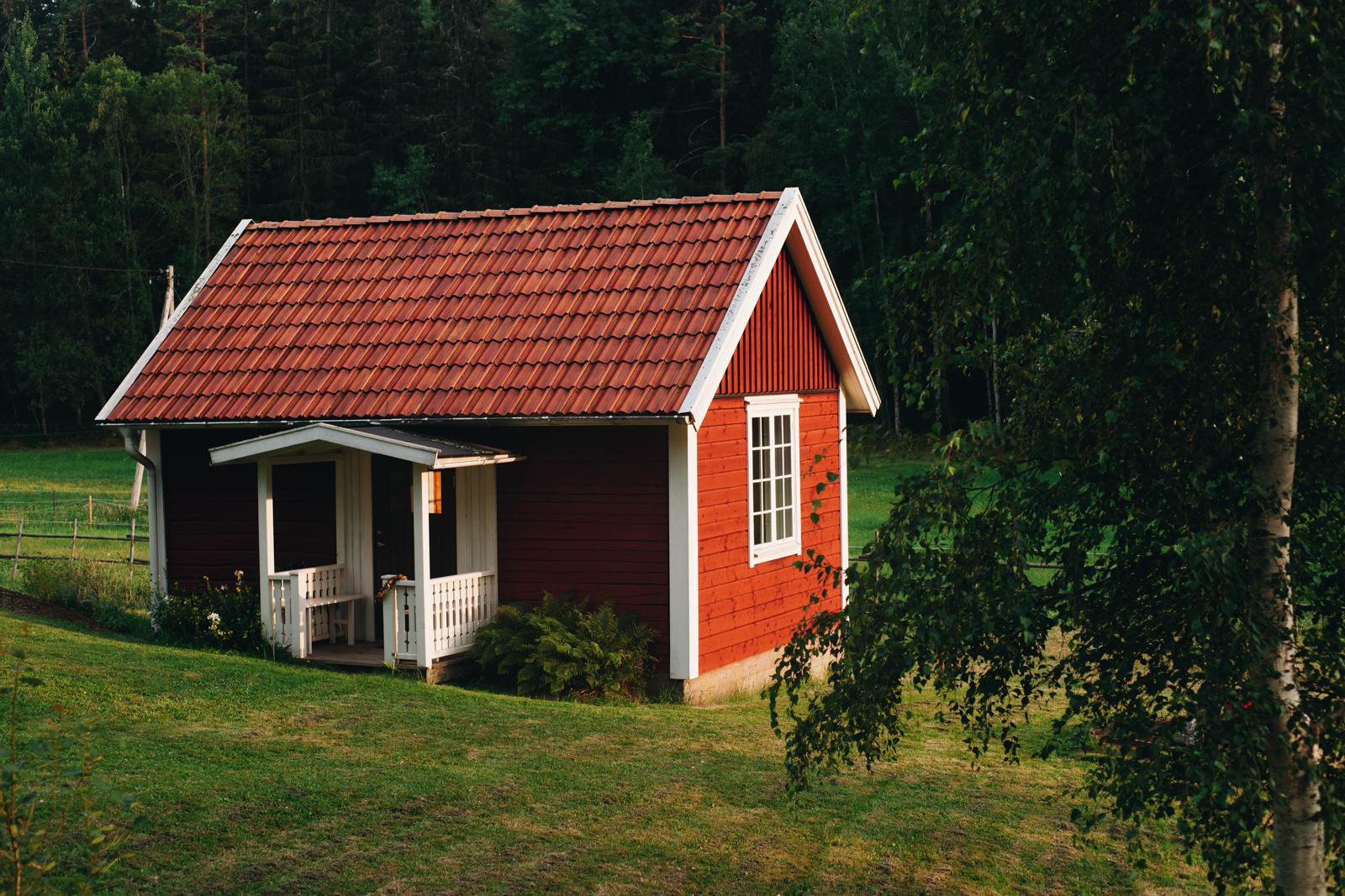 szwedzkie domki letniskowe sommarstuga