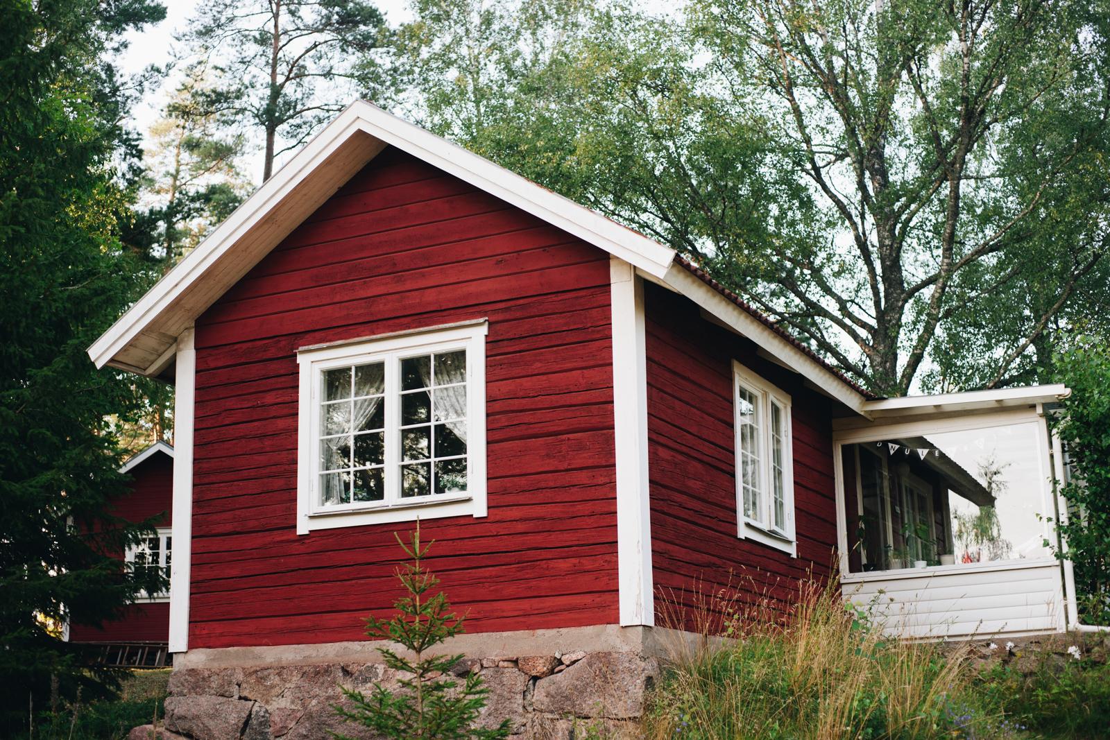szwedzkie domki letniskowe