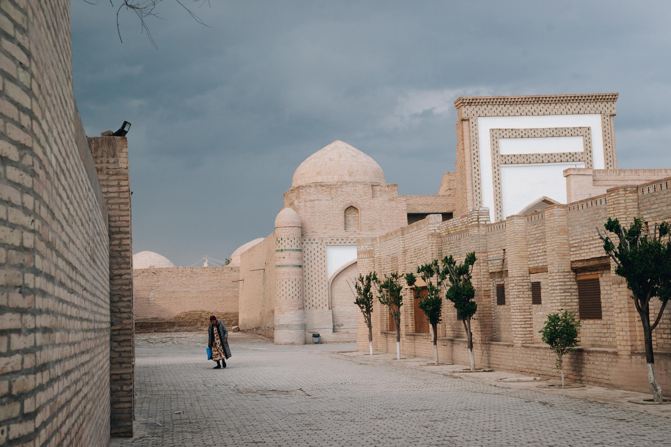 chiwa miasto w uzbekistanie