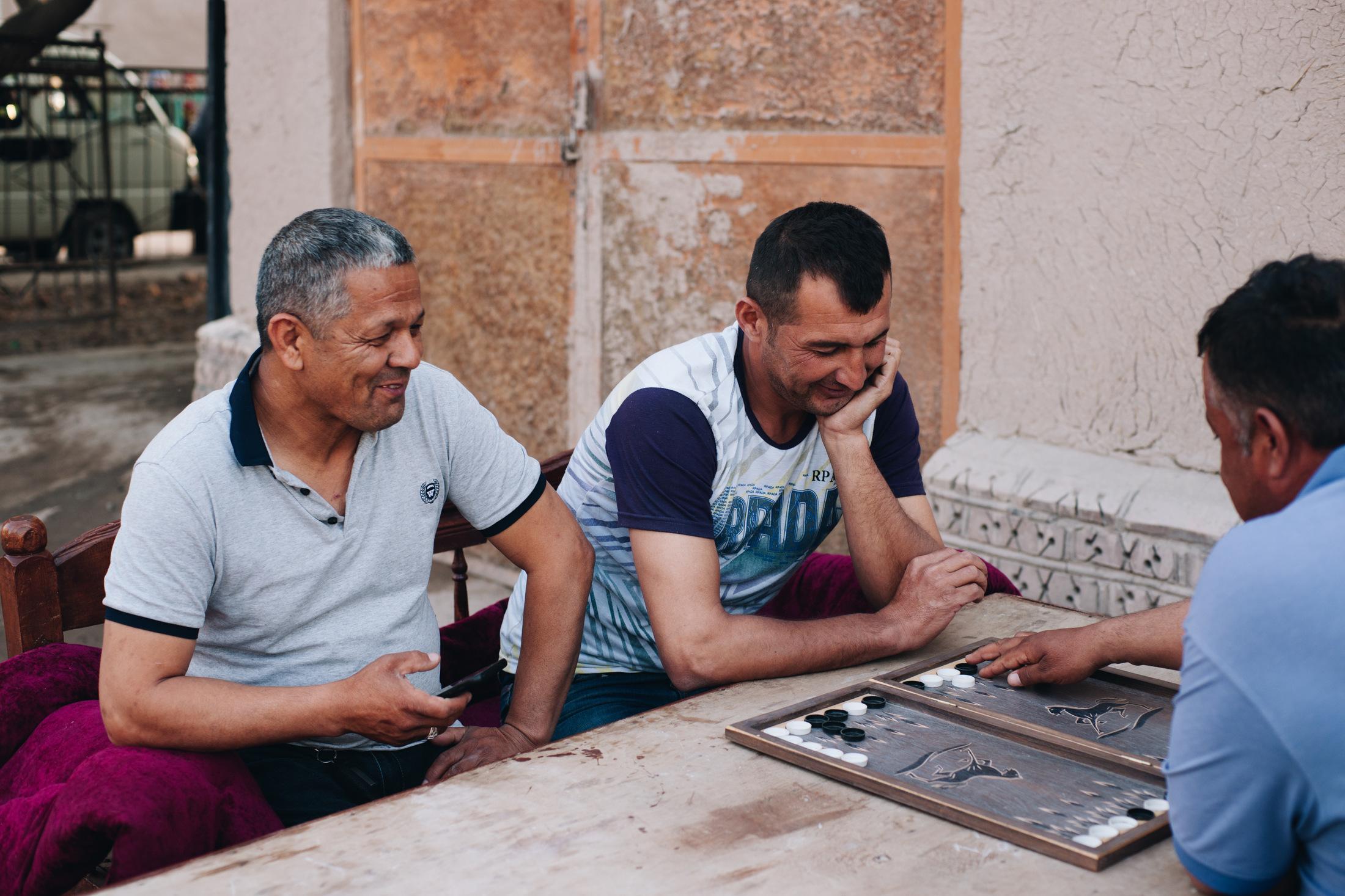 chiwa uzbekistan ludzie