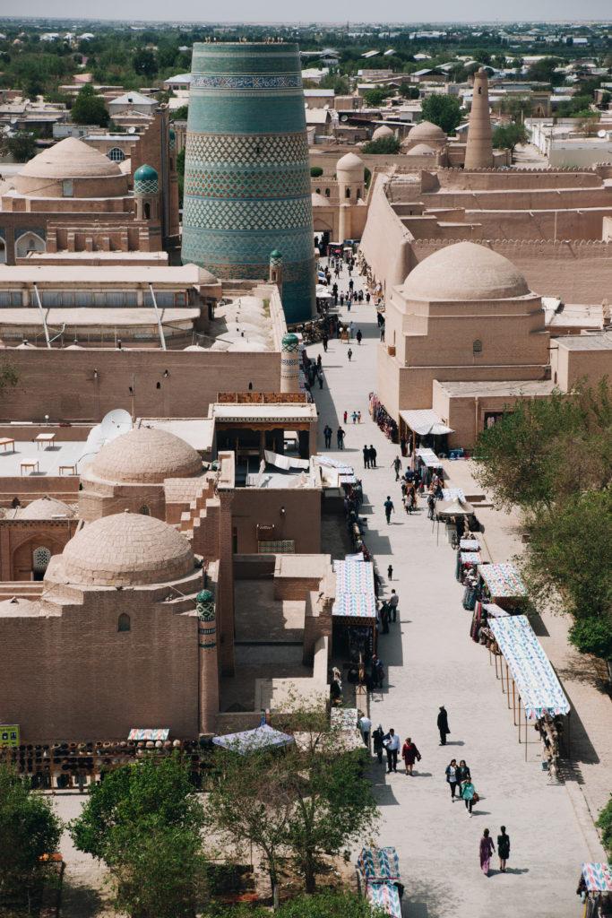chiwa uzbekistan minaret