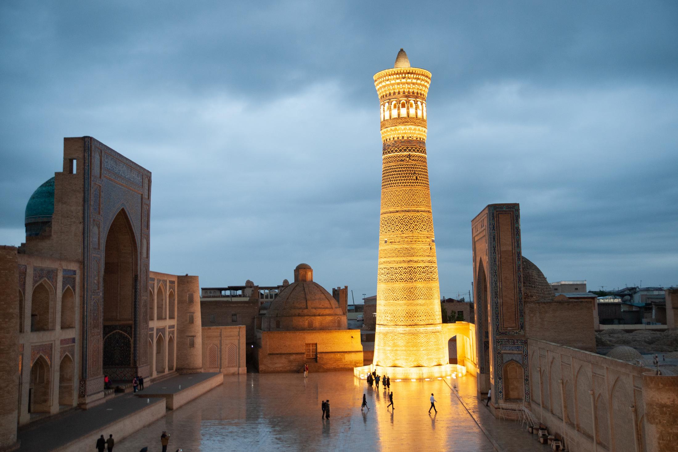 uzbekistan zwiedzanie