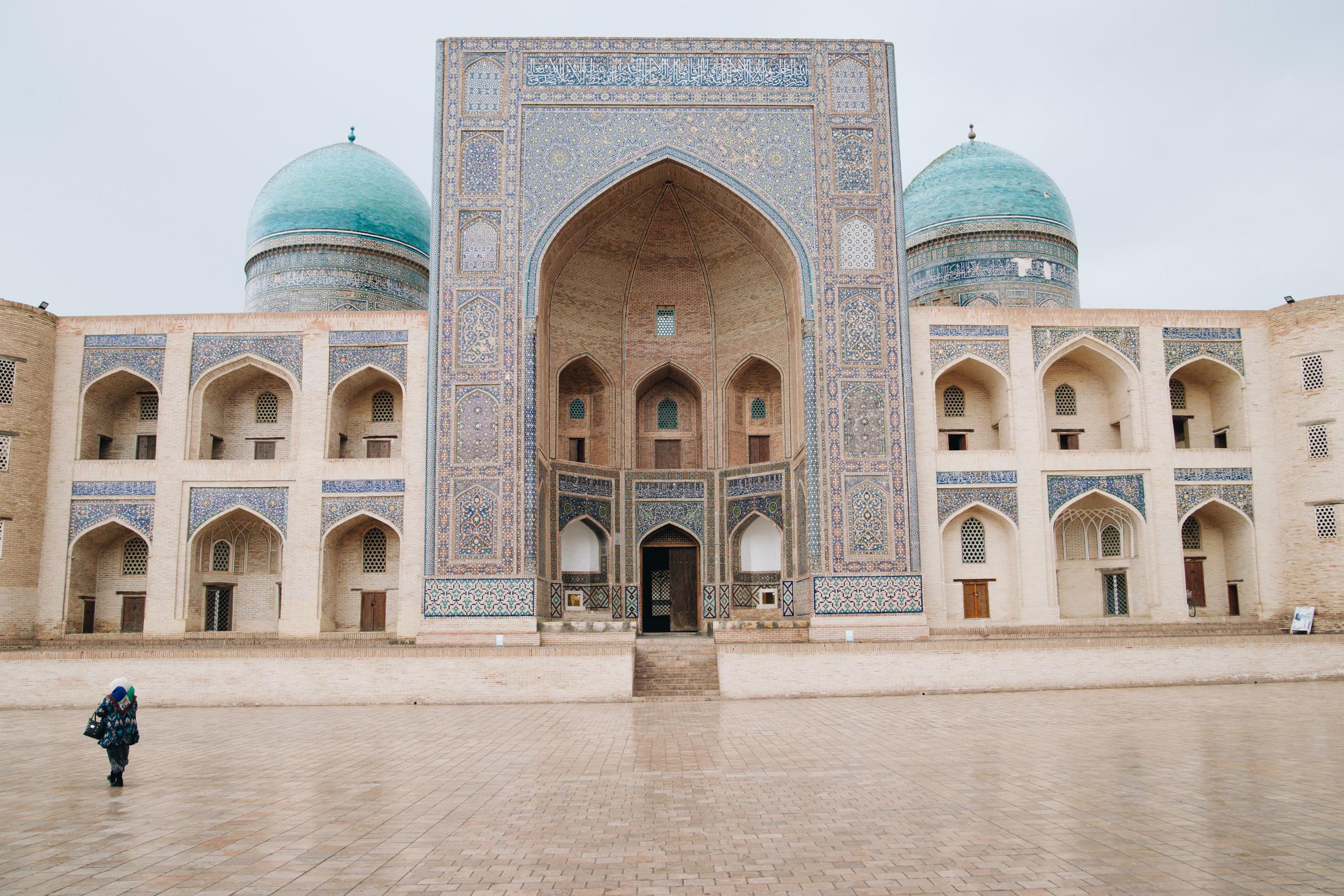 uzbekistan zwiedzanie buchara
