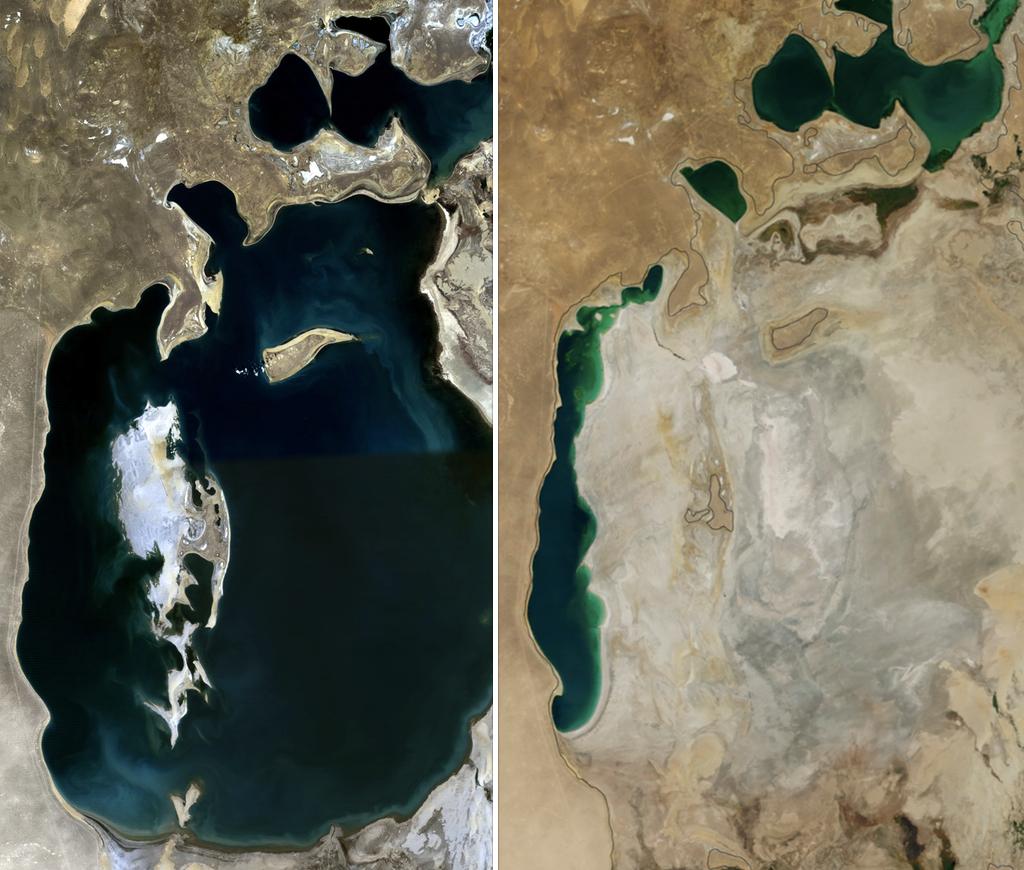 wysychanie jeziora aralskiego