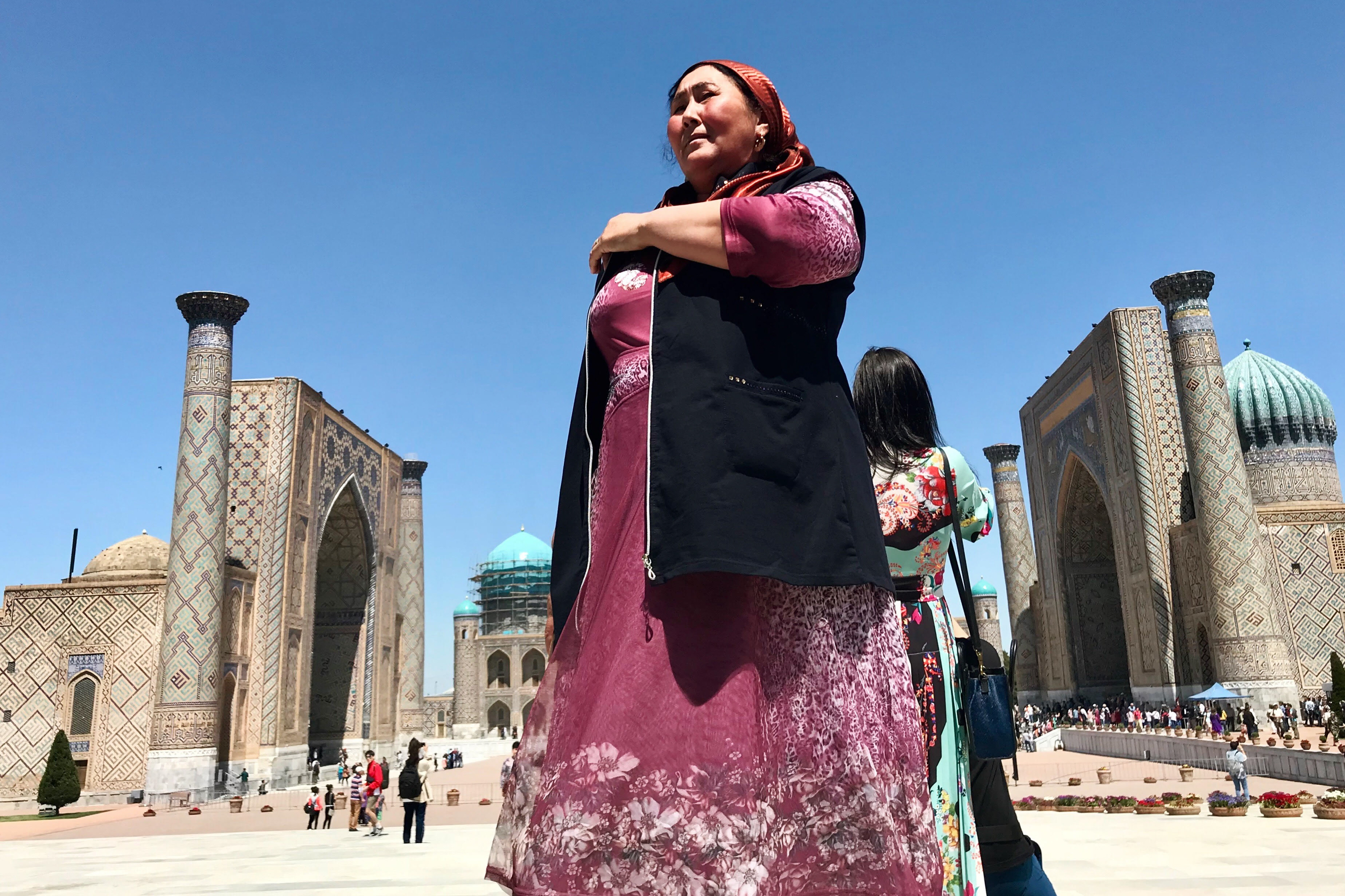 zwiedzanie uzbekistanu samarkanda